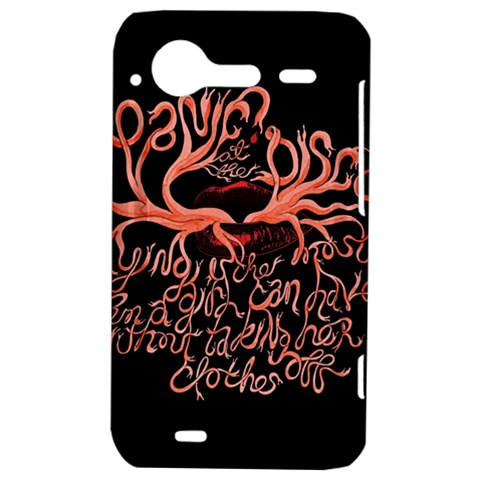 Panic At The Disco   Lying Is The Most Fun A Girl Have Without Taking Her Clothes HTC Incredible S Hardshell Case