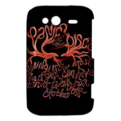 Panic At The Disco   Lying Is The Most Fun A Girl Have Without Taking Her Clothes HTC Wildfire S A510e Hardshell Case