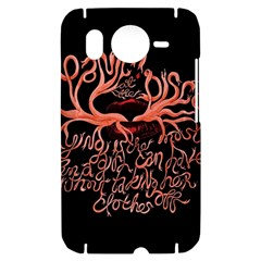 Panic At The Disco   Lying Is The Most Fun A Girl Have Without Taking Her Clothes HTC Desire HD Hardshell Case