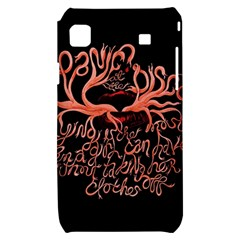 Panic At The Disco   Lying Is The Most Fun A Girl Have Without Taking Her Clothes Samsung Galaxy S i9000 Hardshell Case