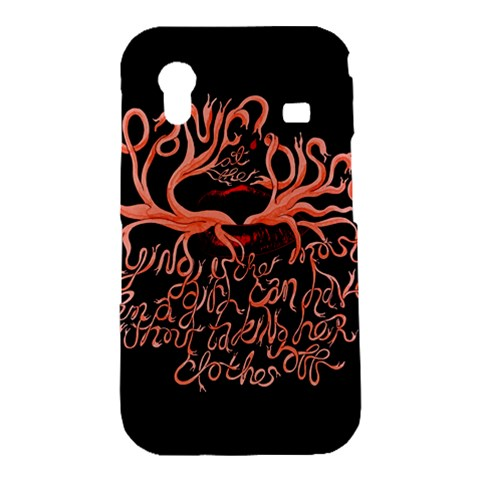 Panic At The Disco   Lying Is The Most Fun A Girl Have Without Taking Her Clothes Samsung Galaxy Ace S5830 Hardshell Case