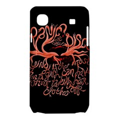 Panic At The Disco   Lying Is The Most Fun A Girl Have Without Taking Her Clothes Samsung Galaxy SL i9003 Hardshell Case