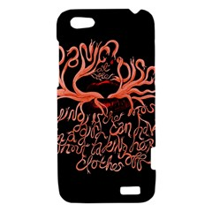 Panic At The Disco   Lying Is The Most Fun A Girl Have Without Taking Her Clothes HTC One V Hardshell Case