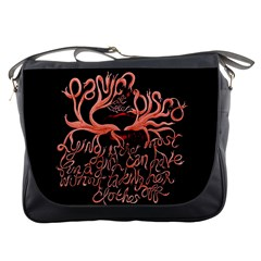Panic At The Disco   Lying Is The Most Fun A Girl Have Without Taking Her Clothes Messenger Bags