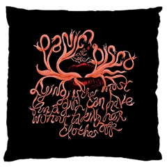 Panic At The Disco   Lying Is The Most Fun A Girl Have Without Taking Her Clothes Large Cushion Case (two Sides)