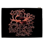 Panic At The Disco   Lying Is The Most Fun A Girl Have Without Taking Her Clothes Cosmetic Bag (XXL)  Back