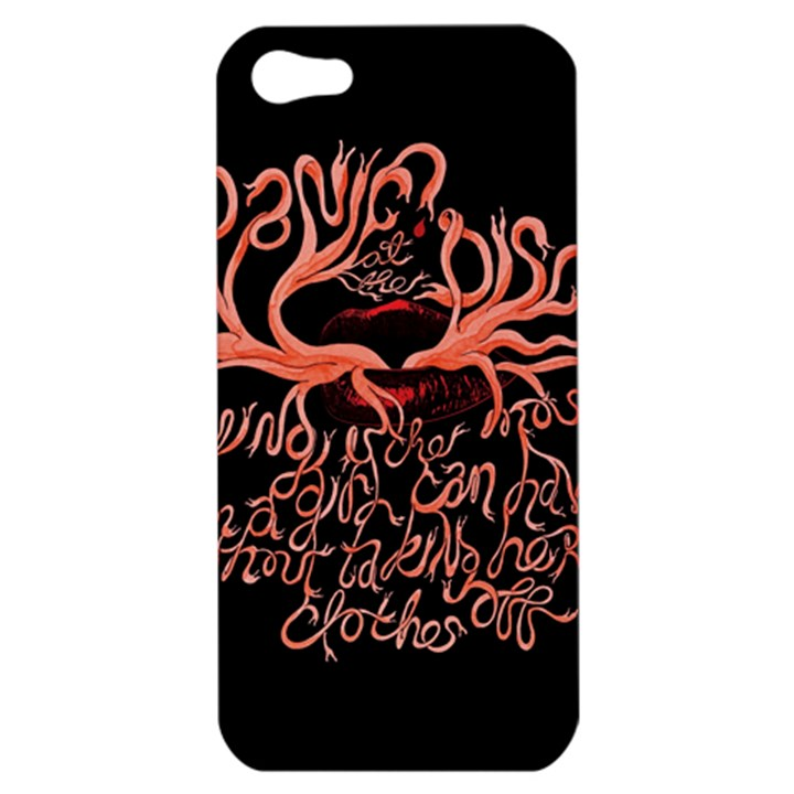Panic At The Disco   Lying Is The Most Fun A Girl Have Without Taking Her Clothes Apple iPhone 5 Hardshell Case