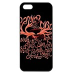 Panic At The Disco   Lying Is The Most Fun A Girl Have Without Taking Her Clothes Apple iPhone 5 Seamless Case (Black) Front