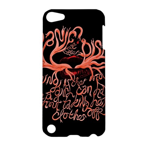 Panic At The Disco   Lying Is The Most Fun A Girl Have Without Taking Her Clothes Apple iPod Touch 5 Hardshell Case