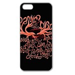 Panic At The Disco   Lying Is The Most Fun A Girl Have Without Taking Her Clothes Apple Seamless iPhone 5 Case (Clear) Front
