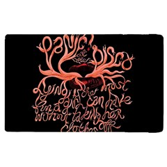 Panic At The Disco   Lying Is The Most Fun A Girl Have Without Taking Her Clothes Apple Ipad 2 Flip Case