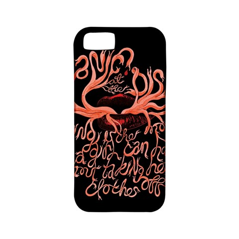 Panic At The Disco   Lying Is The Most Fun A Girl Have Without Taking Her Clothes Apple iPhone 5 Classic Hardshell Case (PC+Silicone)