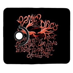 Panic At The Disco   Lying Is The Most Fun A Girl Have Without Taking Her Clothes Samsung Galaxy Note II Flip 360 Case