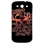 Panic At The Disco   Lying Is The Most Fun A Girl Have Without Taking Her Clothes Samsung Galaxy S3 S III Classic Hardshell Back Case Front
