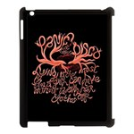 Panic At The Disco   Lying Is The Most Fun A Girl Have Without Taking Her Clothes Apple iPad 3/4 Case (Black) Front