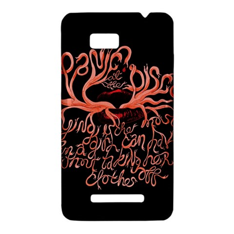 Panic At The Disco   Lying Is The Most Fun A Girl Have Without Taking Her Clothes HTC One SU T528W Hardshell Case