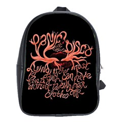 Panic At The Disco   Lying Is The Most Fun A Girl Have Without Taking Her Clothes School Bags (XL)