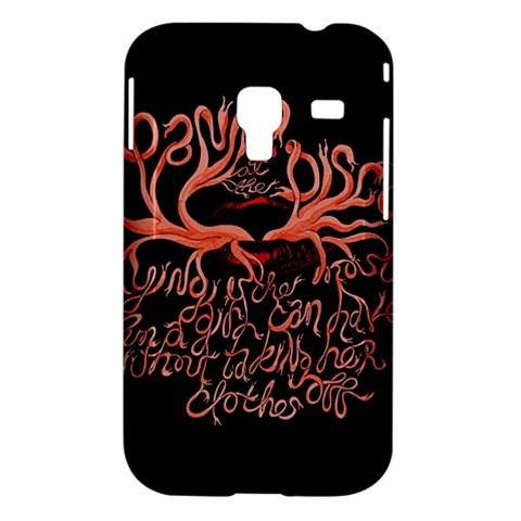 Panic At The Disco   Lying Is The Most Fun A Girl Have Without Taking Her Clothes Samsung Galaxy Ace Plus S7500 Hardshell Case