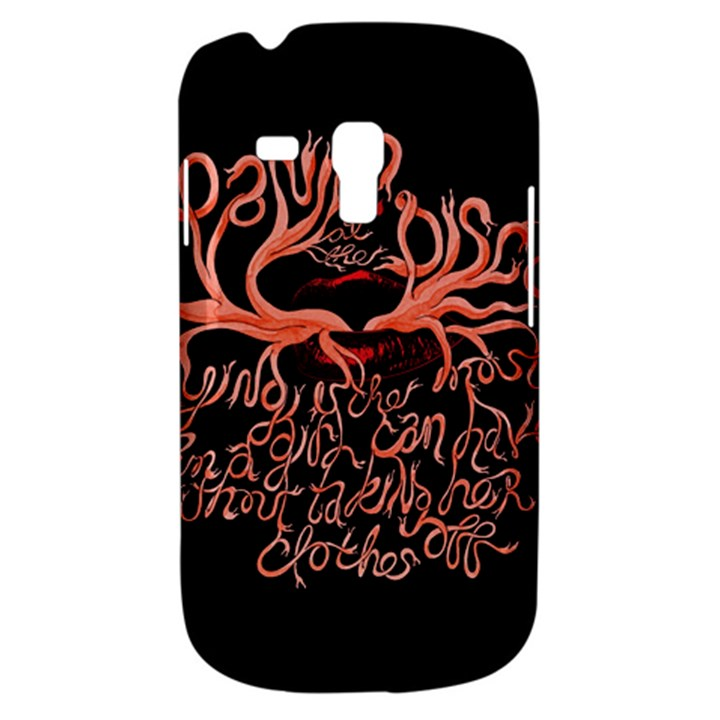 Panic At The Disco   Lying Is The Most Fun A Girl Have Without Taking Her Clothes Samsung Galaxy S3 MINI I8190 Hardshell Case