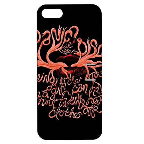 Panic At The Disco   Lying Is The Most Fun A Girl Have Without Taking Her Clothes Apple iPhone 5 Hardshell Case with Stand