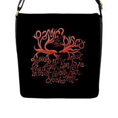 Panic At The Disco   Lying Is The Most Fun A Girl Have Without Taking Her Clothes Flap Messenger Bag (L)