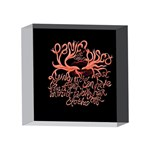 Panic At The Disco   Lying Is The Most Fun A Girl Have Without Taking Her Clothes 4 x 4  Acrylic Photo Blocks Front