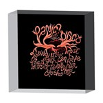 Panic At The Disco   Lying Is The Most Fun A Girl Have Without Taking Her Clothes 5  x 5  Acrylic Photo Blocks Front