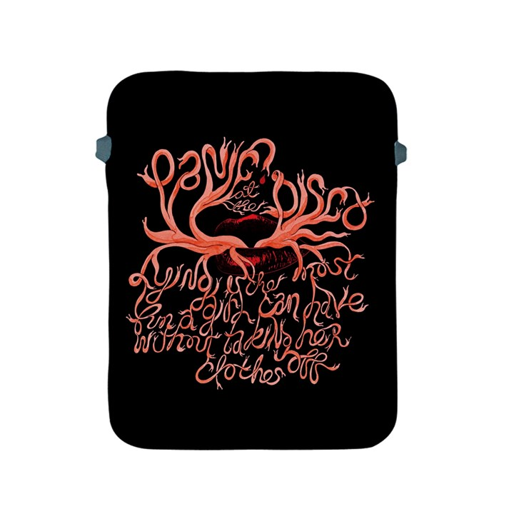 Panic At The Disco   Lying Is The Most Fun A Girl Have Without Taking Her Clothes Apple iPad 2/3/4 Protective Soft Cases