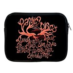 Panic At The Disco   Lying Is The Most Fun A Girl Have Without Taking Her Clothes Apple iPad 2/3/4 Zipper Cases Front