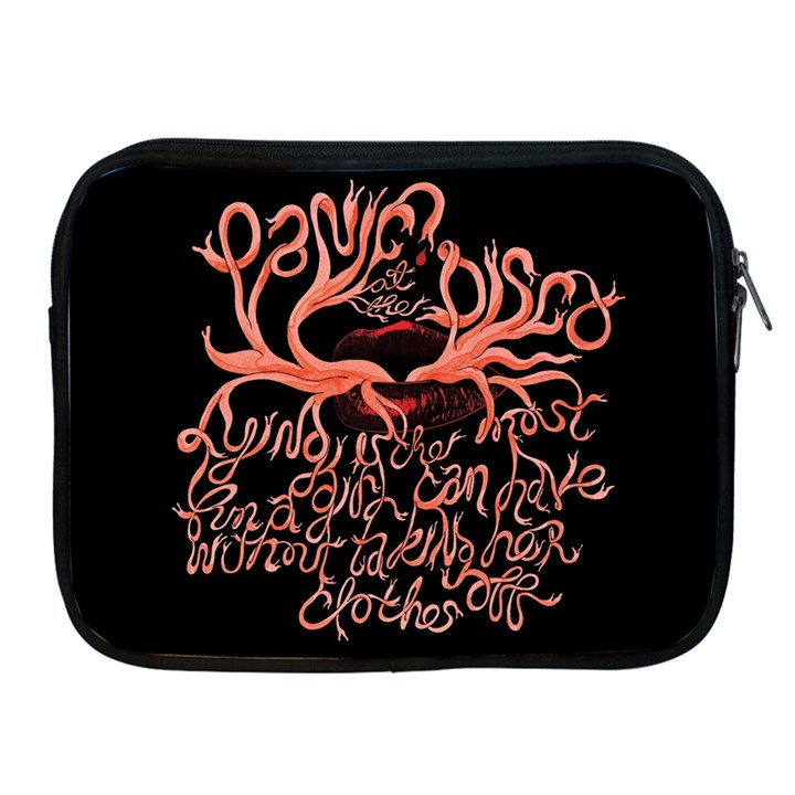 Panic At The Disco   Lying Is The Most Fun A Girl Have Without Taking Her Clothes Apple iPad 2/3/4 Zipper Cases