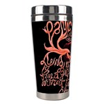 Panic At The Disco   Lying Is The Most Fun A Girl Have Without Taking Her Clothes Stainless Steel Travel Tumblers Left