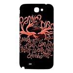 Panic At The Disco   Lying Is The Most Fun A Girl Have Without Taking Her Clothes Samsung Note 2 N7100 Hardshell Back Case Front