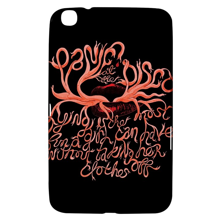 Panic At The Disco   Lying Is The Most Fun A Girl Have Without Taking Her Clothes Samsung Galaxy Tab 3 (8 ) T3100 Hardshell Case