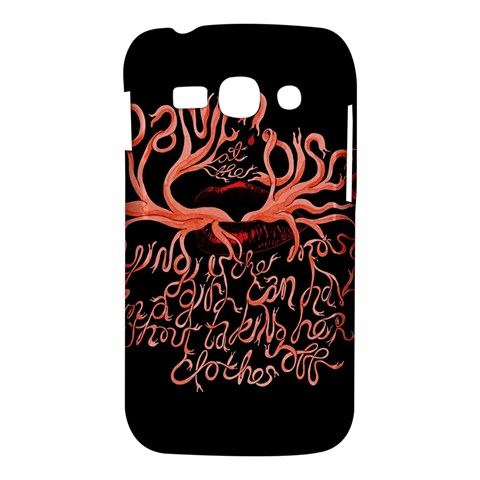 Panic At The Disco   Lying Is The Most Fun A Girl Have Without Taking Her Clothes Samsung Galaxy Ace 3 S7272 Hardshell Case