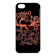 Panic At The Disco   Lying Is The Most Fun A Girl Have Without Taking Her Clothes Apple Iphone 5c Hardshell Case