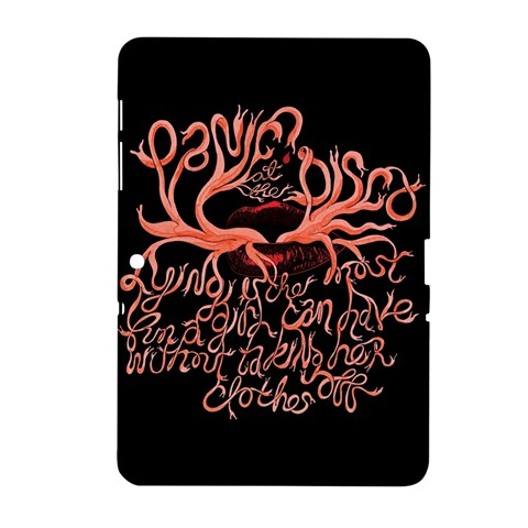 Panic At The Disco   Lying Is The Most Fun A Girl Have Without Taking Her Clothes Samsung Galaxy Tab 2 (10.1 ) P5100 Hardshell Case