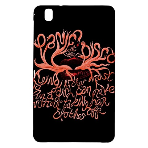 Panic At The Disco   Lying Is The Most Fun A Girl Have Without Taking Her Clothes Samsung Galaxy Tab Pro 8.4 Hardshell Case
