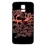 Panic At The Disco   Lying Is The Most Fun A Girl Have Without Taking Her Clothes Samsung Galaxy S5 Back Case (White) Front