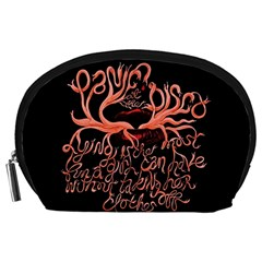 Panic At The Disco   Lying Is The Most Fun A Girl Have Without Taking Her Clothes Accessory Pouches (large)