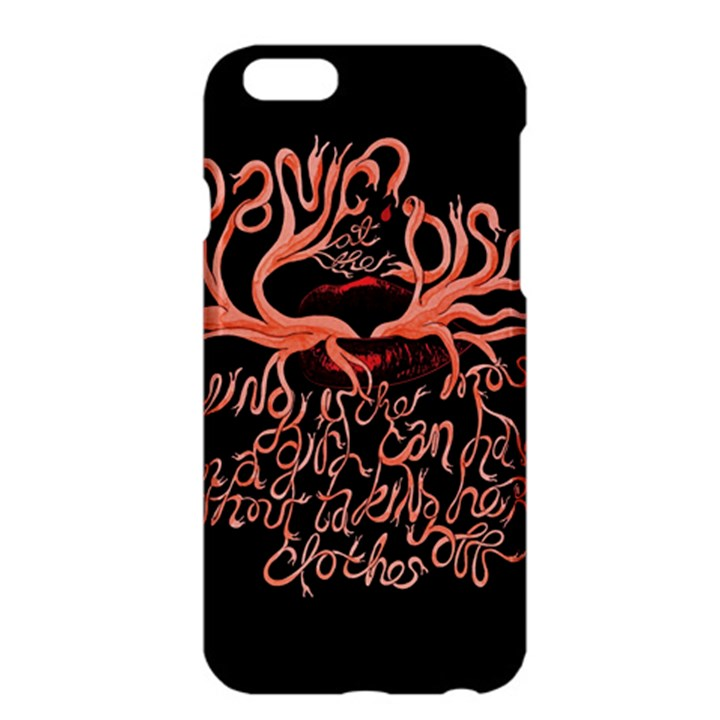 Panic At The Disco   Lying Is The Most Fun A Girl Have Without Taking Her Clothes Apple iPhone 6 Plus/6S Plus Hardshell Case