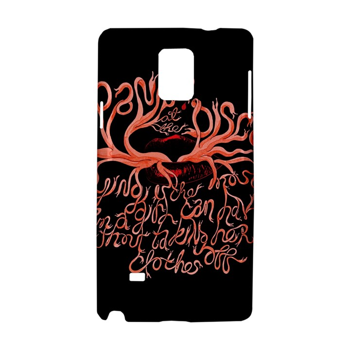 Panic At The Disco   Lying Is The Most Fun A Girl Have Without Taking Her Clothes Samsung Galaxy Note 4 Hardshell Case