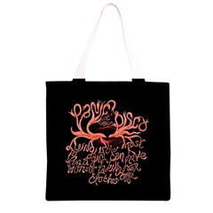 Panic At The Disco   Lying Is The Most Fun A Girl Have Without Taking Her Clothes Grocery Light Tote Bag