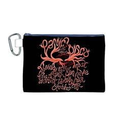 Panic At The Disco   Lying Is The Most Fun A Girl Have Without Taking Her Clothes Canvas Cosmetic Bag (M)