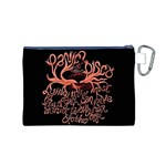 Panic At The Disco   Lying Is The Most Fun A Girl Have Without Taking Her Clothes Canvas Cosmetic Bag (M) Back