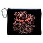 Panic At The Disco   Lying Is The Most Fun A Girl Have Without Taking Her Clothes Canvas Cosmetic Bag (XXL) Front