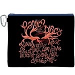 Panic At The Disco   Lying Is The Most Fun A Girl Have Without Taking Her Clothes Canvas Cosmetic Bag (XXXL) Front