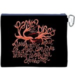 Panic At The Disco   Lying Is The Most Fun A Girl Have Without Taking Her Clothes Canvas Cosmetic Bag (XXXL) Back