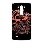 Panic At The Disco   Lying Is The Most Fun A Girl Have Without Taking Her Clothes LG G3 Back Case Front