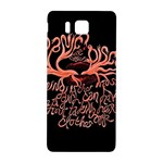 Panic At The Disco   Lying Is The Most Fun A Girl Have Without Taking Her Clothes Samsung Galaxy Alpha Hardshell Back Case Front