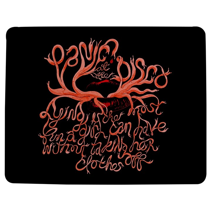 Panic At The Disco   Lying Is The Most Fun A Girl Have Without Taking Her Clothes Jigsaw Puzzle Photo Stand (Rectangular)
